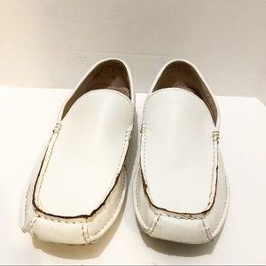 Men's Steve Madden White Loafers